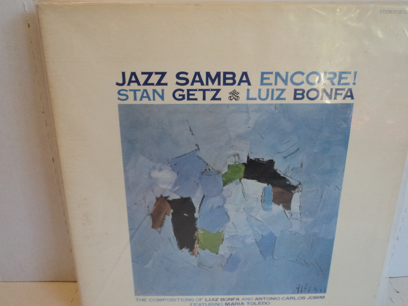 Stan Getz & Luiz Bonfa - Jazz Samba Encore! Japan Import Verve UMV 2100