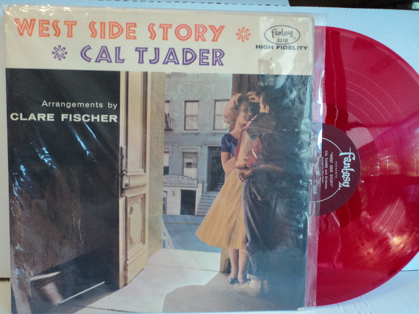 Cal Tjader - West Side Story  Fantasy Red Vinyl Mono NM