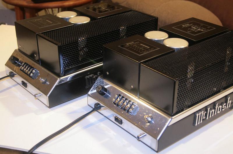Mcintosh MC50 Excellent pair Mono Block