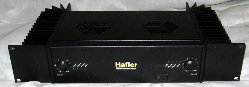 Hafler P-3000 transnova plwer amplifier balanced XLR