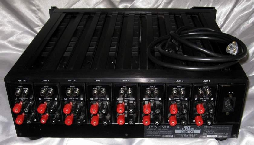 Flying Mole Cascade DPA-M1600 16 channel digital power amplifier as good as multichannel gets
