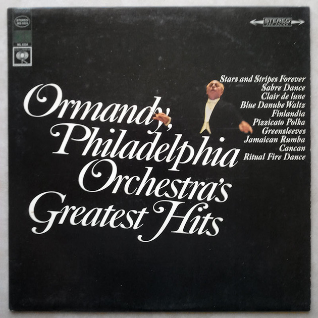 Columbia 2-eye/Ormandy - - Philadelphia Orchestra's Great Hits / EX