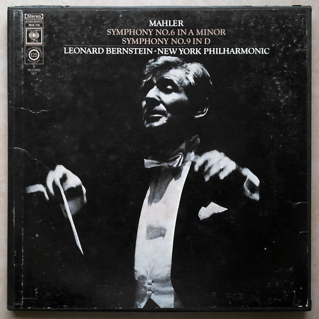Columbia 2-eye/Bernstein/Mahler - Symphonies Nos. 6 & 9 / 3-LP Box Set / NM