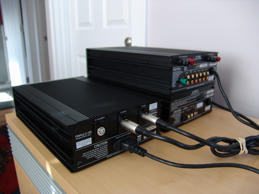 Musical Fidelity X Series  XRay-V8, XT-100 AND Triple X170 PS
