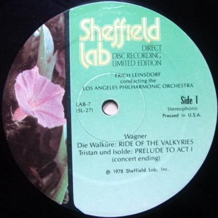 ★Audiophile★ Sheffield Lab / LEINSDORF, - Wagner Die Walkure, MINT!