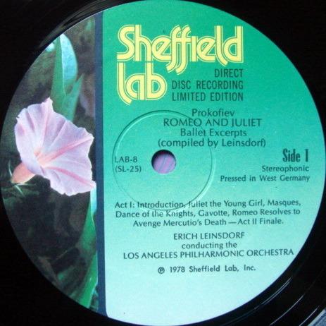 ★Audiophile★ Sheffield Lab / LEINSDORF, - Prokofiev Romeo & Juliet, MINT!