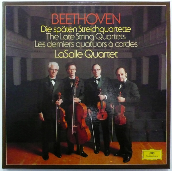 Beethoven-Late String Quartets / - / LaSalle Quartet