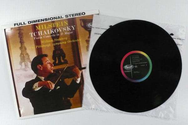 Tchaikovsky-Violin Concerto / - / Milstein w/ Steinberg, Pittsburgh Symphony