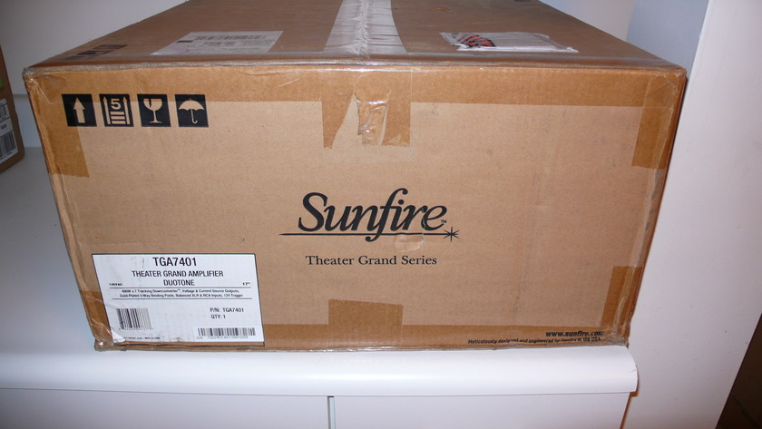 SUNFIRE TGA7401 Theater Grand Amplifier