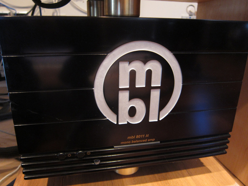 MBL 8011am Mono Amps Incredible Performance