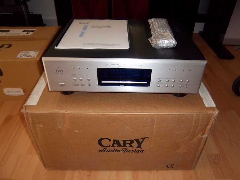 Cary Audio  CD 303T SACD (Reduced) Professional Version