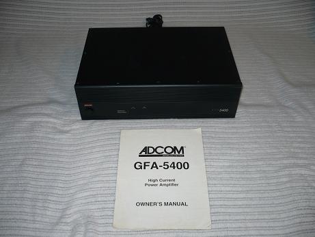 Adcom GFA 5400  Great power, Cheap!