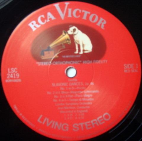 ★Audiophile 180g★ RCA-Classic Records /  - MARTINON, Dvorak Slavonic Dances, MINT(OOP)!