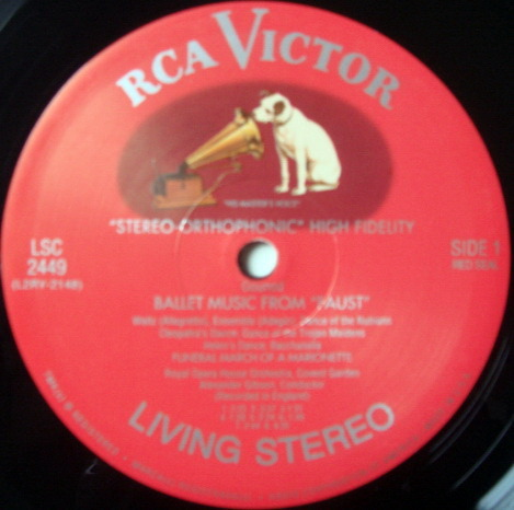 ★Audiophile 180g★ RCA-Classic Records /  - GIBSON, Gounod Faust, Bizet Carmen, TAS LP (OOP), MINT!
