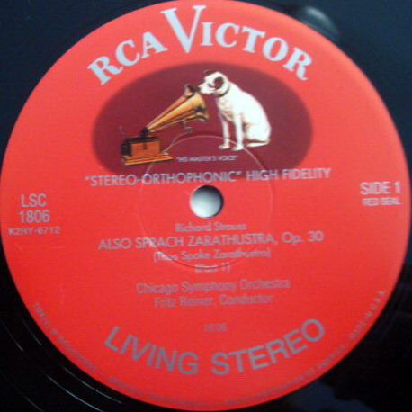★Audiophile 180g★ RCA-Classic Records /  - REINER, R. Strauss Also Sparch Zarathustra, TAS LP, MINT!