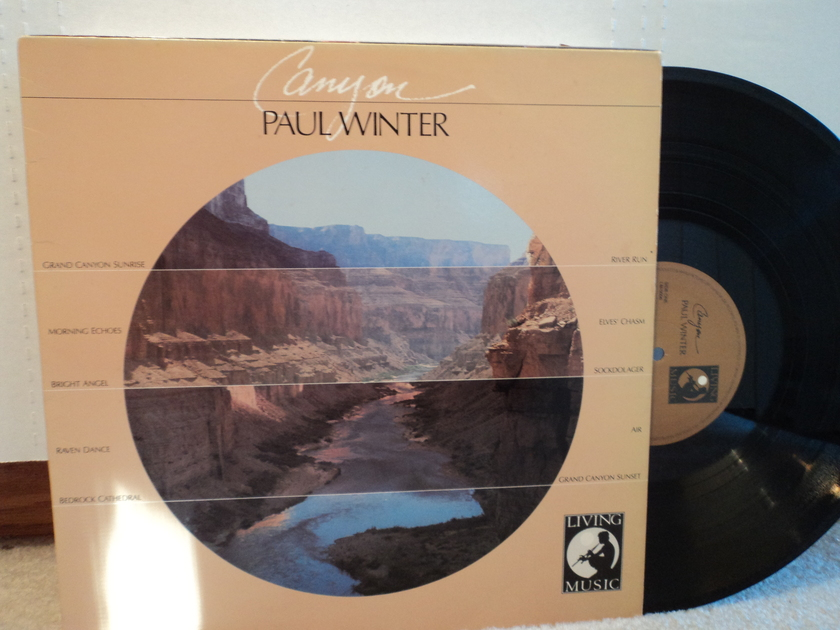 Paul Winter  - Canyon 1986 Living Music New Age NM