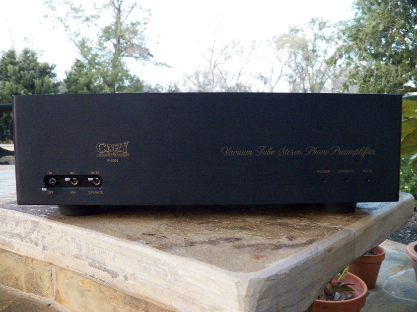 Cary PH-302 MM / MC Tube Phono Stage / Preamp Wonderful!!