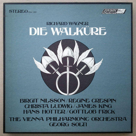 London ffrr/Solti/Wagner The - Ring Cycle / 19 LPs (4 box sets) / NM