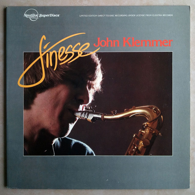 Nautilus Superdiscs / John Klemmer - Finesse - / Limited Edition Direct-to-Disc Recording / NM
