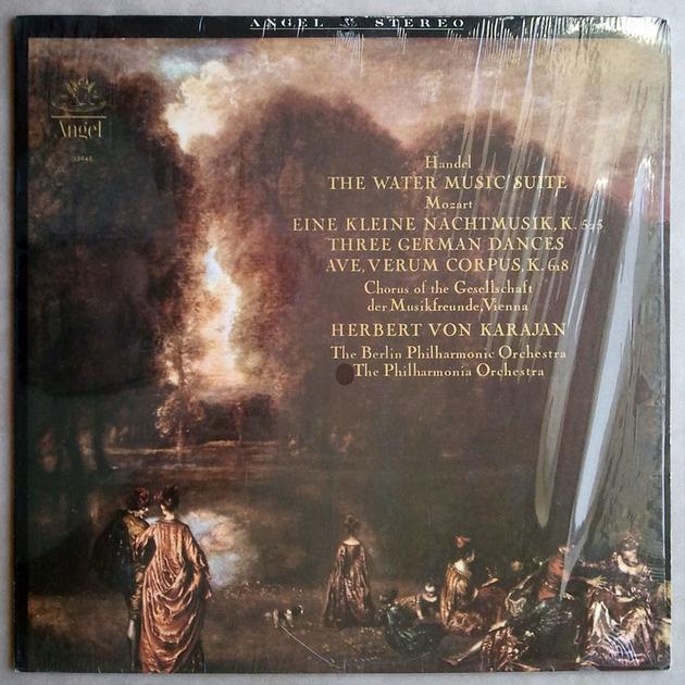 Angel/Karajan/Handel - Water Music, Mozart Eine Kleine Nachtmusik / NM