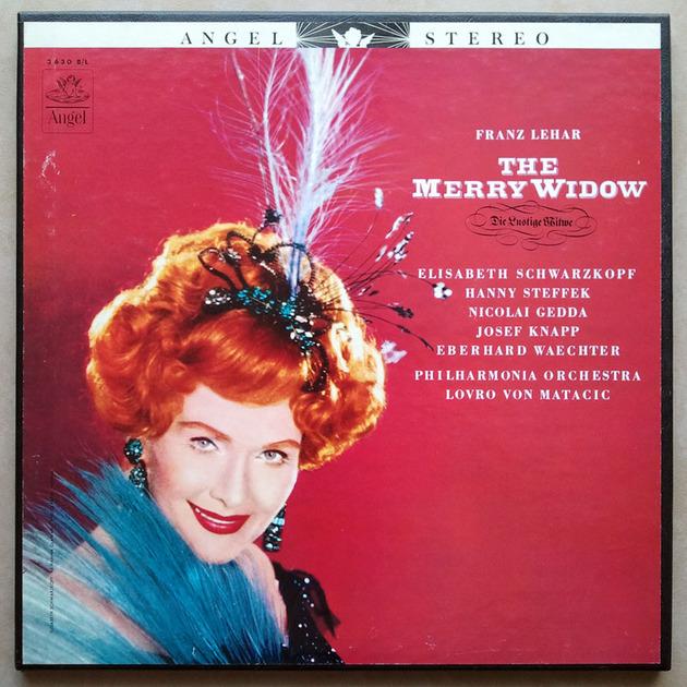 Angel/Von Matacic/Lehar - The Merry Widow / 2-LP Box Set / NM