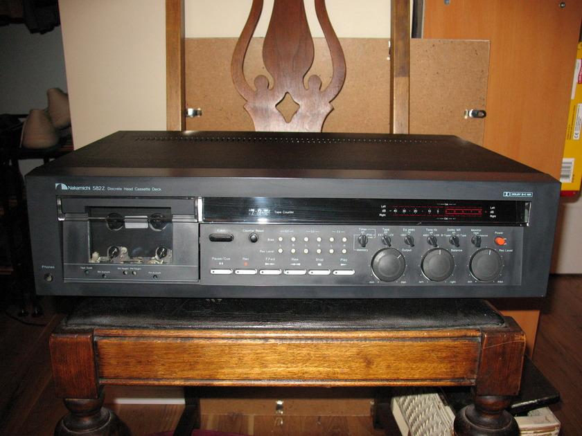 Nakamichi 582Z Audiophile Cassette Deck