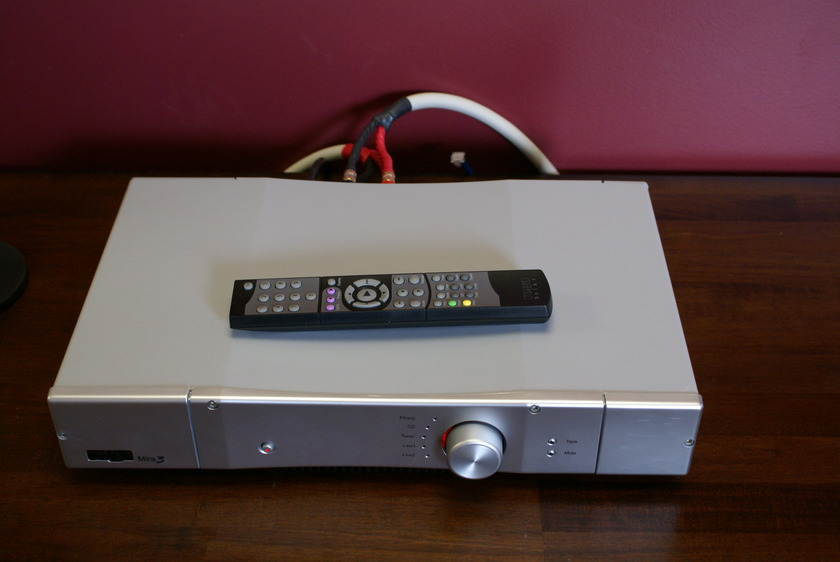 Rega Mira3 Silver, Awesome Integrated, Under 10 Hours