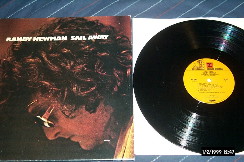 Randy Newman - Sail Away LP NM First pressing