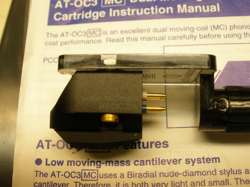 audio-technica AT-OC3 MC OCC Moving Coil  Low Output