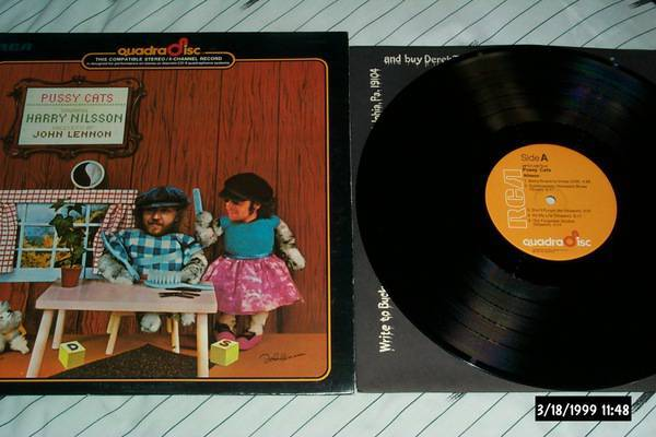 Harry Nilsson - Pussy Cats cd-4 qaudradisc lp nm