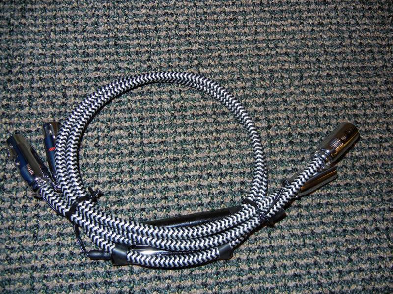 AudioQuest Cheetah 36V DBS .75 XLR Interconnect