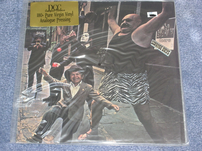 The Doors - STRANGE DAYS 180 gm. - DCC - factory sealed LP
