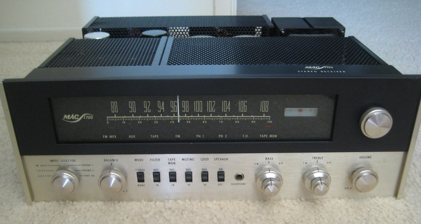 Mcintosh MAC 1700 Receiver