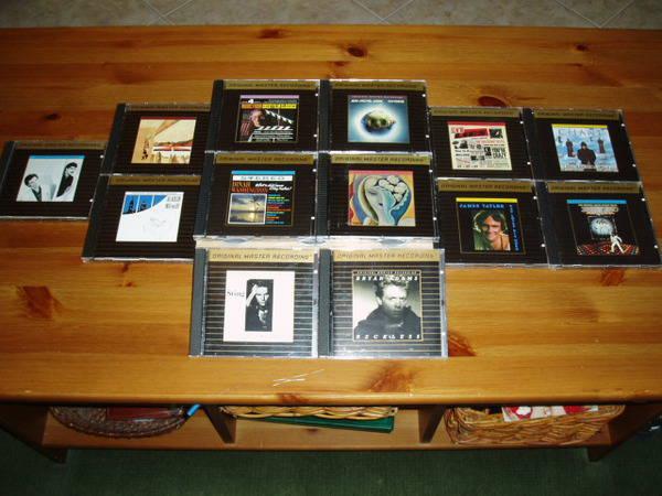 Mfsl 24kt Gold - 10 UDCDs/combo sale collectors items!