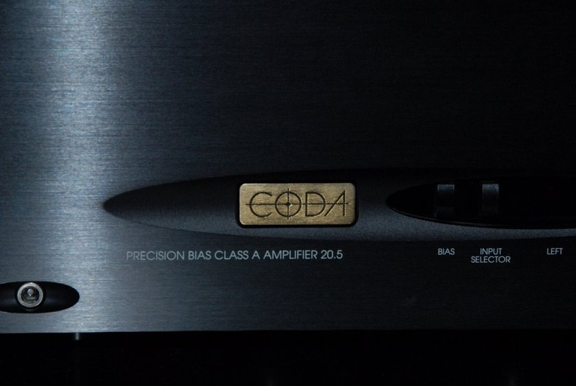 Coda Technologies 10.5 Precision Bias High Current Reference 2 Channel Amplifier  200W X 2 CLASS A/AB