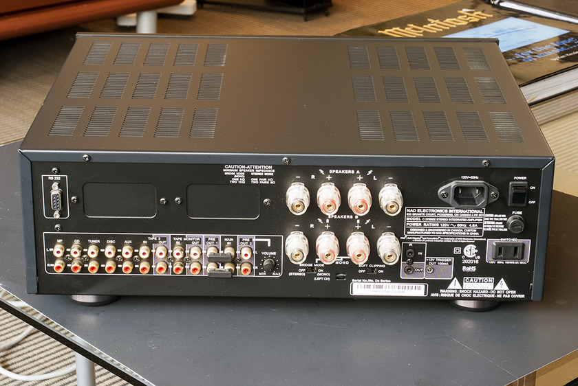 NAD C375BEE Integrated Amplifier; 150w x 2