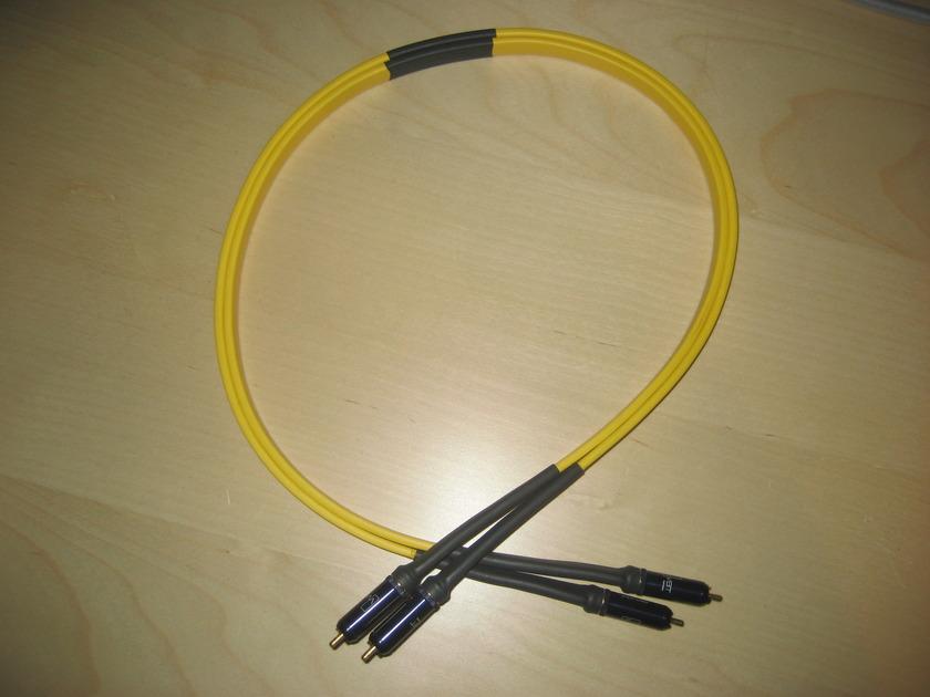 Audio Metallurgy GA-0 1.0m RCA Interconnects