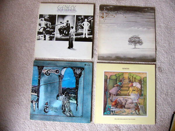 Genesis Collection - 15 LP's - Gabriel, rutherford, hackett, phillips