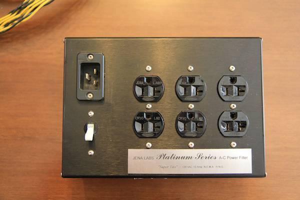 Jena Labs Platinum Series AC power filter
