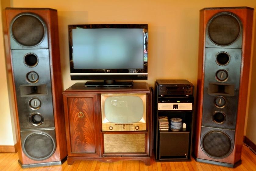 Linn Audio of NH Reference Granite Mahogany Beauties