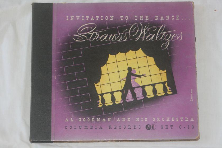 Al Goodman - Strauss Waltzes Columbia Set C-13