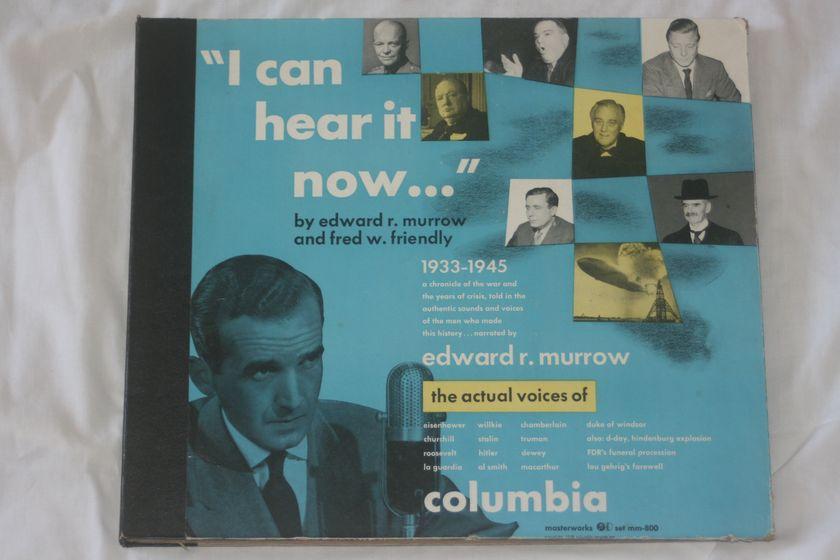 """Edward R. Murrow & Fred W. Friendly - """"I Can Hear It Now..."""" Masterworks Set MM-800"""