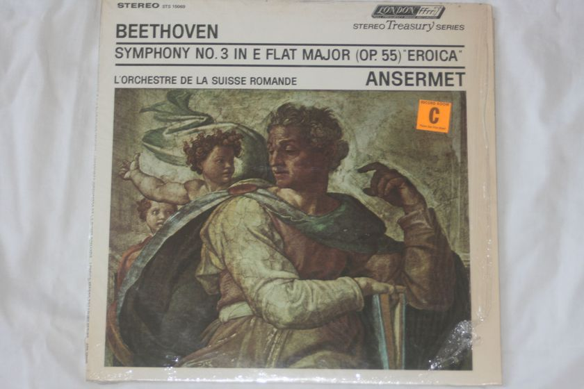 """Ansermet - Beethoven Symphony No. 3 """"Eroica"""" London Stereo STS 15069"""