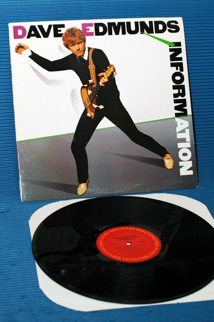 "DAVE EDMUNDS -  - ""Information"" - Columbia  1983  Original Release"