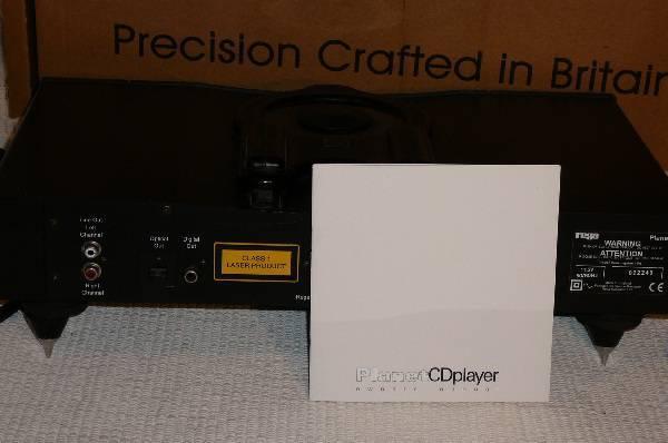 Rega Planet 2000 Refined British CD Player