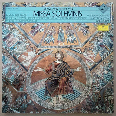 DG/Bohm/Beethoven - Missa Solemnis / 2-LP Box Set / NM