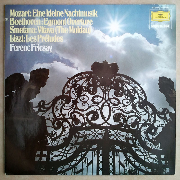 DG/Fricsay conducts Liszt, - Mozart, Beethoven, Smetana / NM