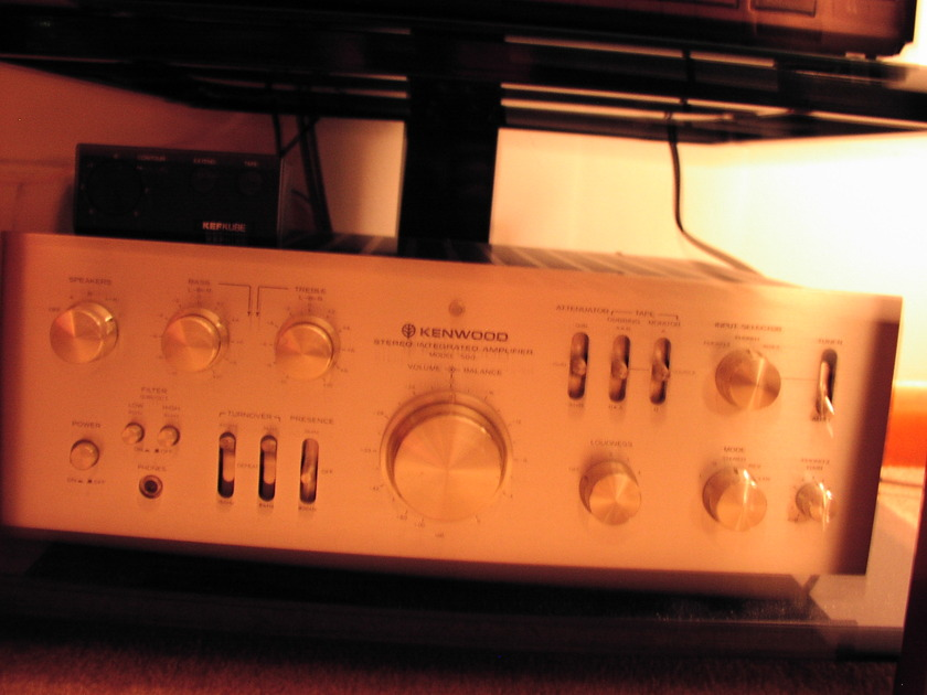 """Echowars"" Kenwood Supreme Model 500 Integrated Amplifier"