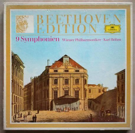 DG/Bohm/Beethoven - 9 Symphonies / 8-LP Box Set / NM