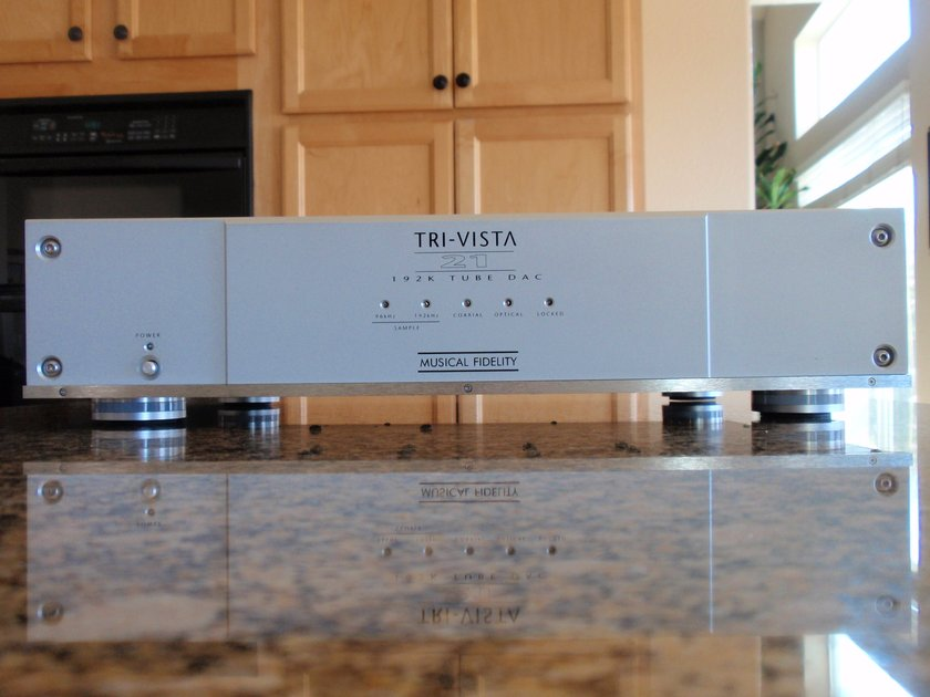 Musical Fidelity  Trivista 21 with new tubes and MF $950 fine tuning mods